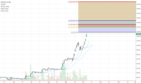 HEG: Buy above 1261 if we get the chance for the target of 1150-1160