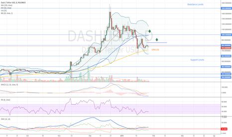 DASHUSDT: Dash Entry Levels