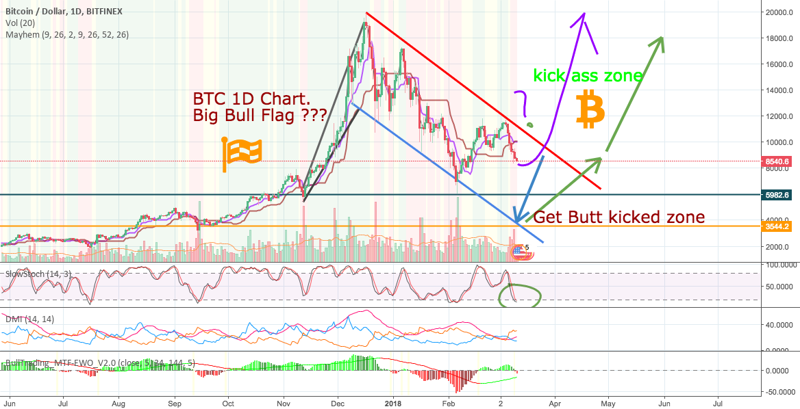 Has BTC MAMA Formed a Big Bull Flag?