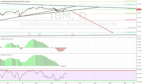 IBM: IBM Long Term Sell Setup
