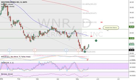 WNR: WNR - daily chart