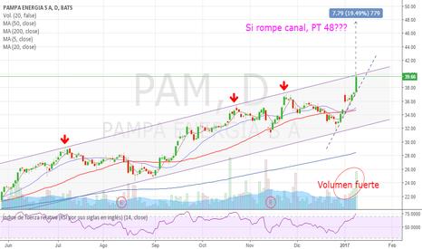 PAM: PAM puede estar en techo de canal