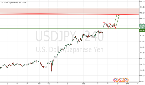 USDJPY: USDJPY goes to the monthly resistance area?