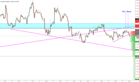 AUDUSD: AUD USD SHORT