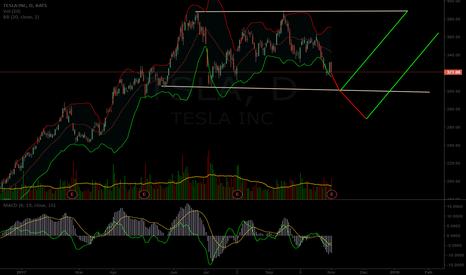 TSLA: $TSLA potential short term chart path