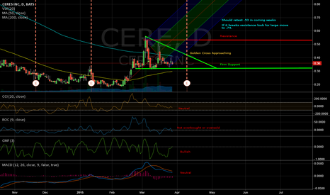 CERE: CERE looking for Catalyst