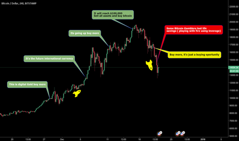 BTCUSD: Bitcoin slapped hard on face of illiterate humans ( speculators)