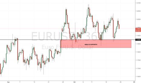 EURUSD: EUR/USD: supporto di breve posto a 1.18750