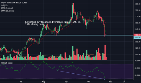 INDUSINDBK: Screaming buy: Too Much Divergence