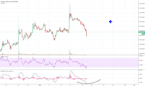 RADSBTC: $Rads , Oversold and Will Start Buy Wave