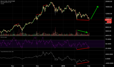 BTCUSD: EVERYONE IS CALLING FOR 8K - BUT EVERYONE CANNOT BE RIGHT