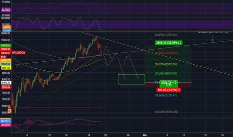 BTCUSDIDX: Wave 2 Predictions