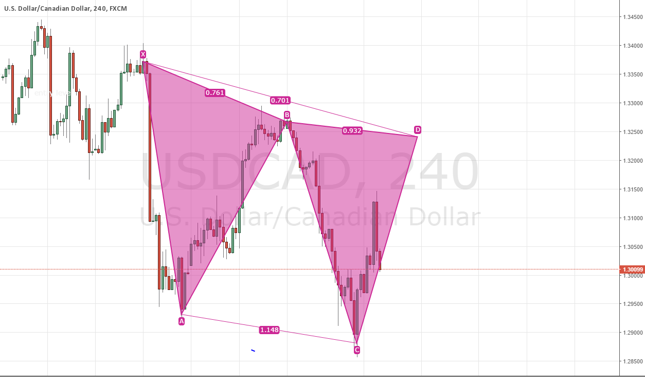 USDCAD BUTTER FLY MOVEMENT