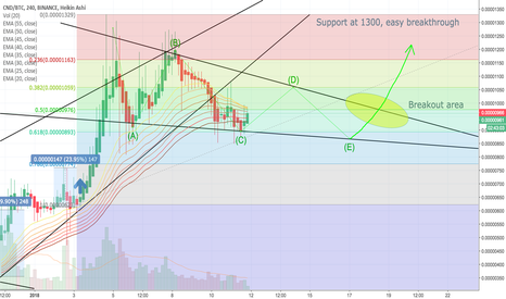 CNDBTC: CND Next 7 days pattern forming