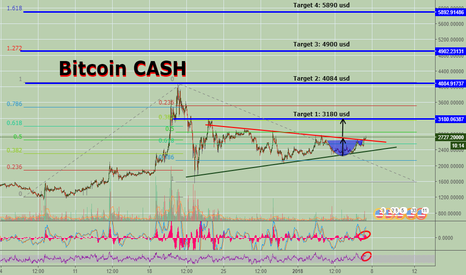 BCHUSD: BitcoinCash going to moon again?
