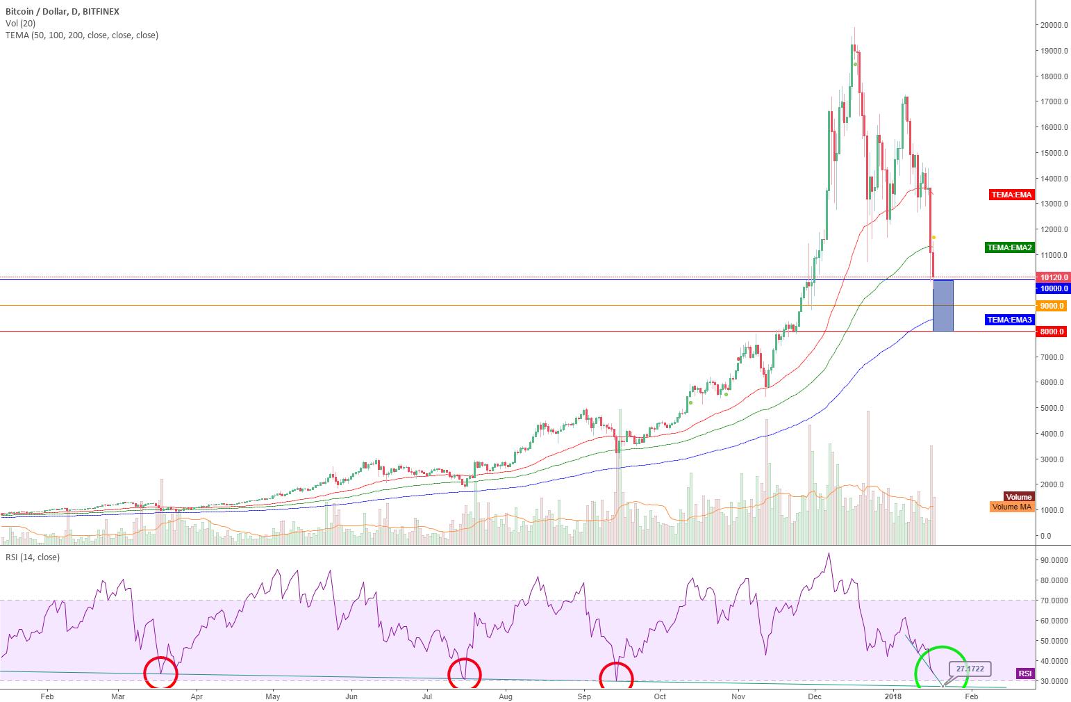 Bitcoin and the RSI history