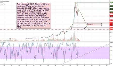 BTCUSD: Bitcoin at the crossroad