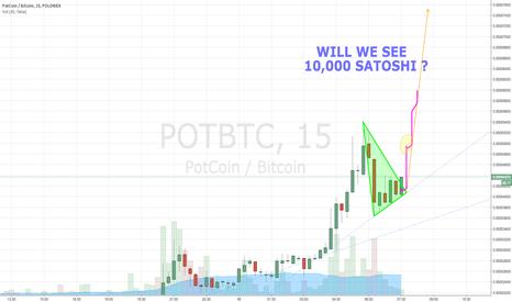 POTBTC: PotCoin to 10,000 Satoshi ?  ANOTHER DOUBLE !!!!