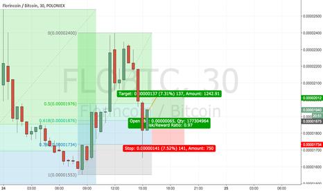 FLOBTC: FLO/BTC bounced off .618 fib line, going up now :D