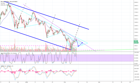 BTCUSD: BTC found bottom? Temporarily yes. Ultimately no. Feb. 10 update
