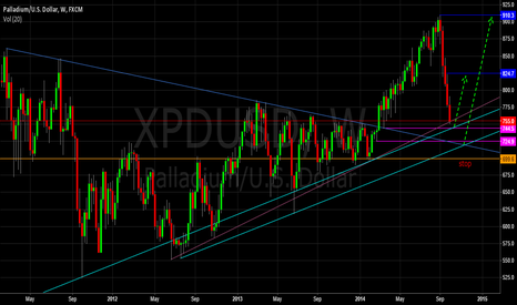 XPDUSD: PALLADIUM it's time for a bounce?