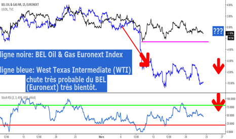 BEOG: BEL Oil & Gas (de Euronext) et US Oil (West Texas Intermediate)