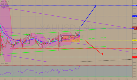 XAUUSD: Gold spot Intraday: further advance.