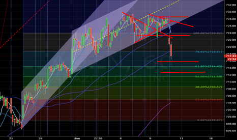 AMZN: $716 first support level