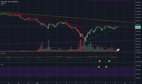 BTCUSD: Right Shoulder or ends the long correction?