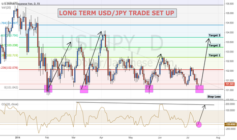 USDJPY: USD/JPY LONG TERM RANGE BOUNCE