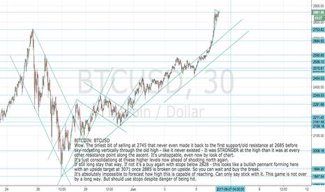 BTCUSD: BITCOIN: BTCUSD Parabola back in play - more to come now