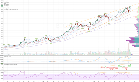 BTCUSD: Is Bitcoin nearing the end of this year's bull run?
