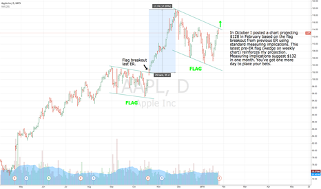 AAPL: Another ER flag... should breakout Wednesday.