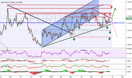 EURUSD: Analysis and forecasts for EUR / USD 06/23/16