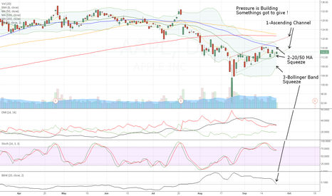 AAPL: APPLE is getting Squeezed - Somethings got to give!