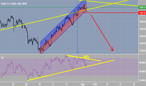 XAUUSD: Negative real divergence
