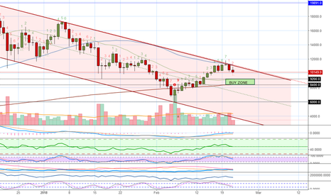 BTCUSD: Bitcoins Next Support Level (Buy Zone) - When To ReBuy?