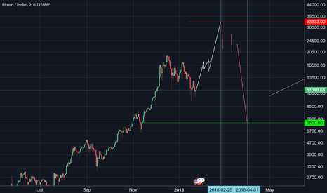BTCUSD: BTC: up to 33k then dump to 7k