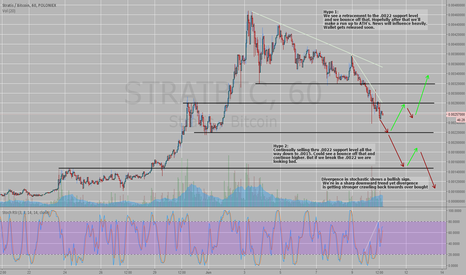 STRATBTC: STRAT/BTC 2 Hypothesis. Technical / Fundamental analysis.