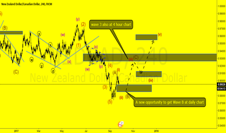 NZDCAD: NZDCAD Long term a new idea wave analysis