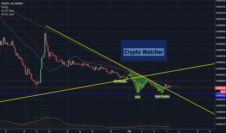 TRXBTC: Something is cooking!!!