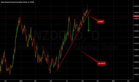 NZDCAD: NZDCAD: Sell breakout