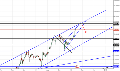 BTCUSD: BTCUSD  EXPECTED DOWN 6800.00