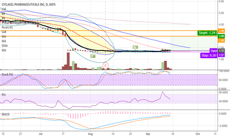 CYCC: CYCC 7% Short Float / strong support - accumulating / Fill Gap