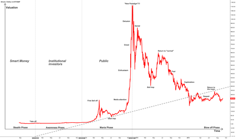 Phases Of A Bitcoin Bubble By Trader Emanance Published September 07 2015 TradingView