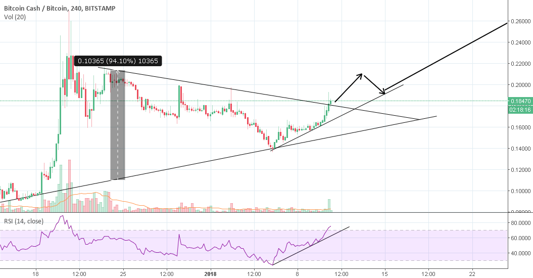 Bitcoin cash gonna moon again?