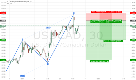 USDCAD: USDCAD ABCD