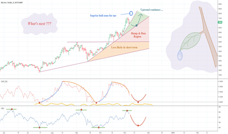 BTCUSD: BTCUSD – Price too stretched… trend exhausted