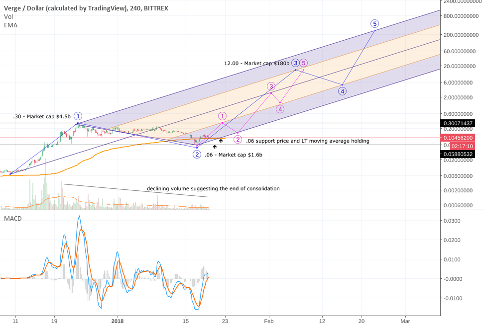 XVG FORK PROJECTION