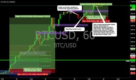 BTCUSD: Deceleration Example